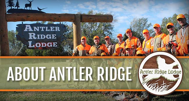 About Antler Ridge Lodge