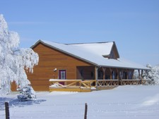 The Lodge in February 2007 after a fresh snow.